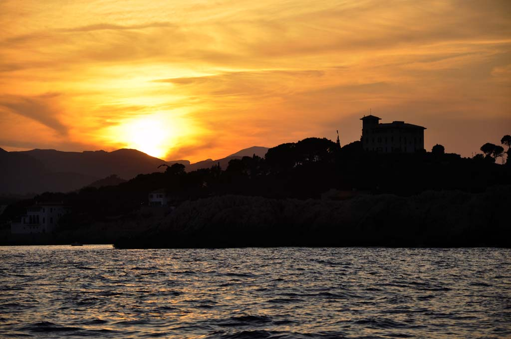 Sunset at Cala Ratjada (Mallorca)